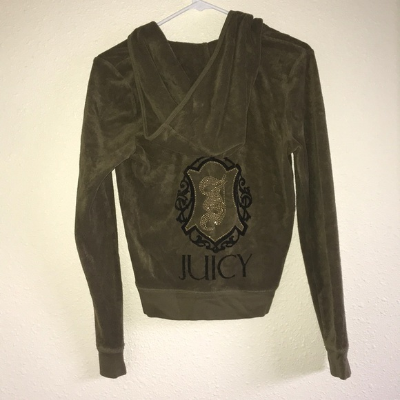 d880fe528f1b Juicy Couture Tops - NWOT Green juicy couture jumpsuit hoodie